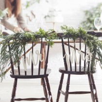 Mr&Mrs houten hangers